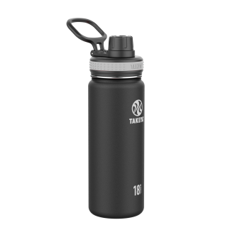 Takeya 18 ounce black water bottle