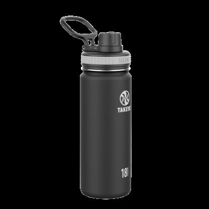 Takeya 18 ounce black water bottle